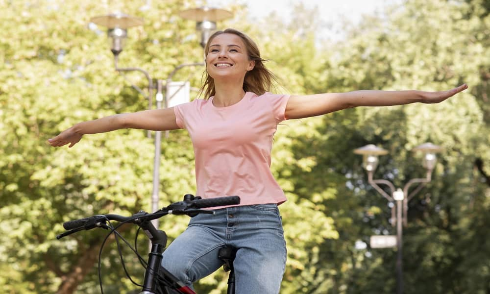 How to Ride a Bike With no Hands