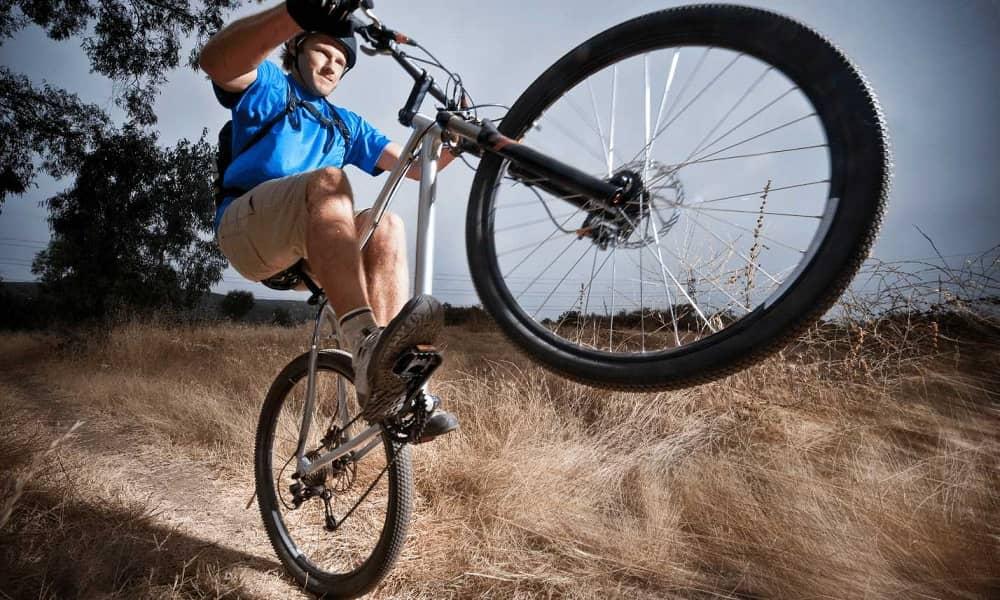 How to Pop a Wheelie on a Mountain Bike
