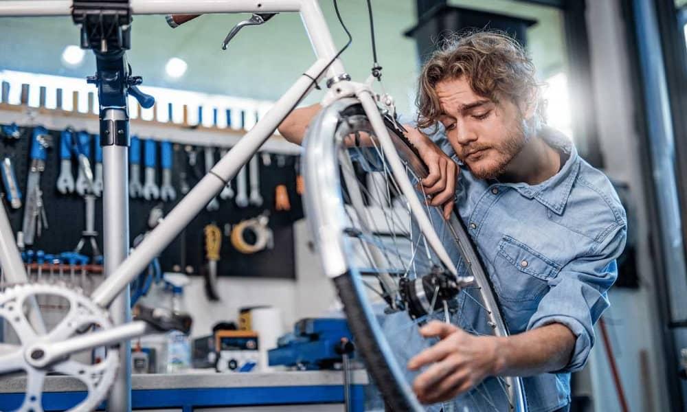 How to Straighten a Bent Bike Rim